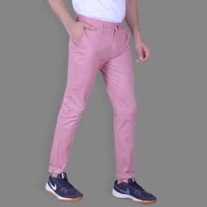 Watermelon Pink Chinos