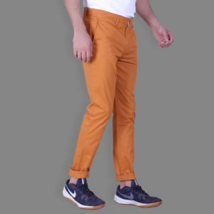 Tangy Orange Chinos