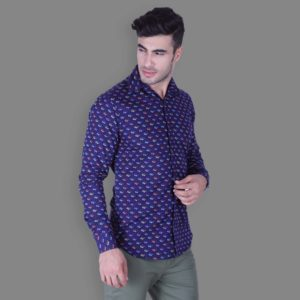 Spexy Printed Button Down Shirt