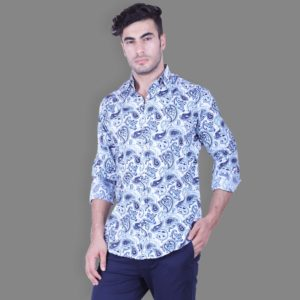 Pazzo Printed Button Down Shirt