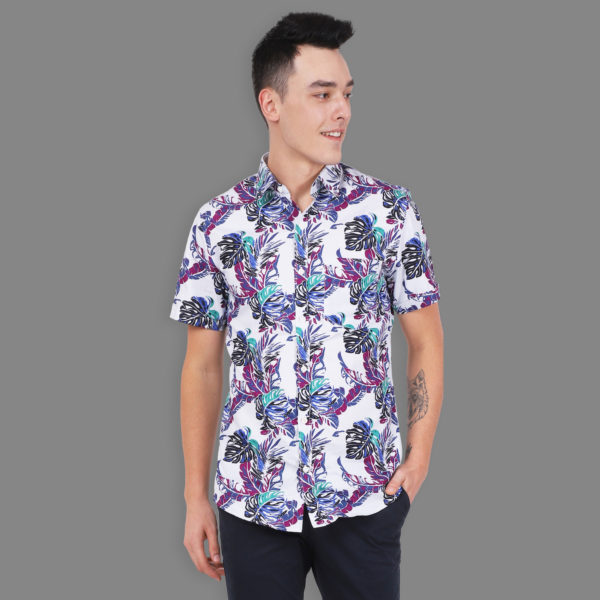 Resort - Short Sleeve Printed Shirt